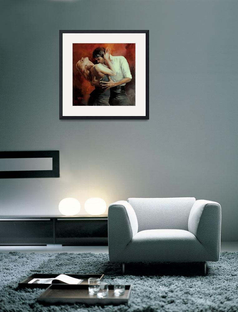 """""""Tango passion 3&quot  (2010) by willemhaenraets"""