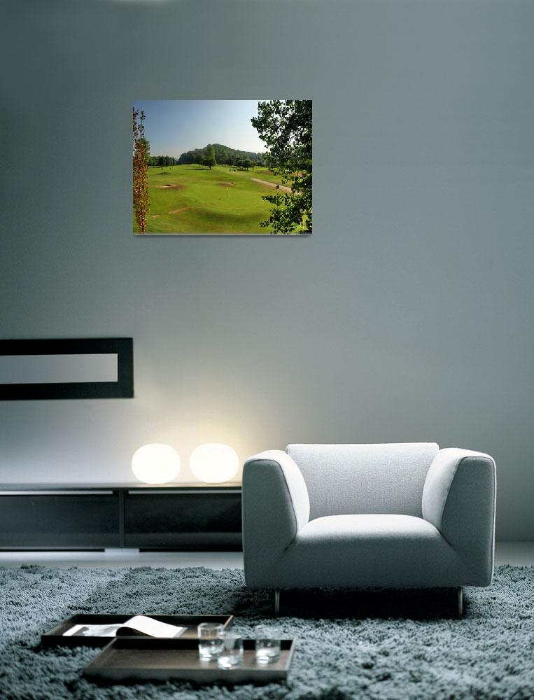 """""""Imverness Golf Course""""  (2013) by Wintercreeks"""
