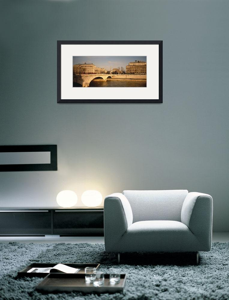 """""""Arch bridge across a river&quot  by Panoramic_Images"""
