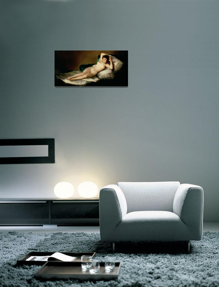 """""""The Naked Maja by Goya""""  by fineartmasters"""