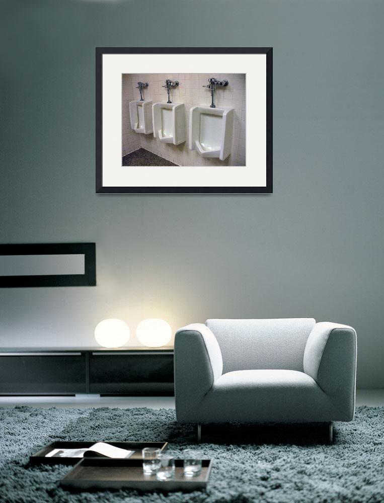 """""""Urinals""""  (2011) by vncstone"""