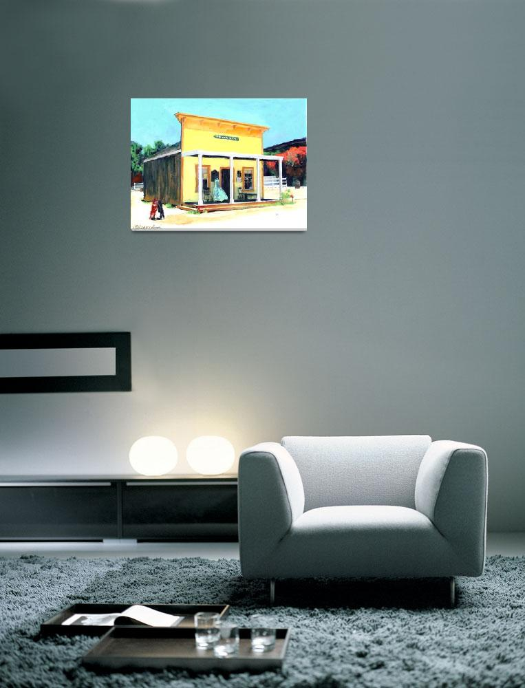 """Johnson House, Old Town San Diego by Riccoboni""  (2006) by RDRiccoboni"