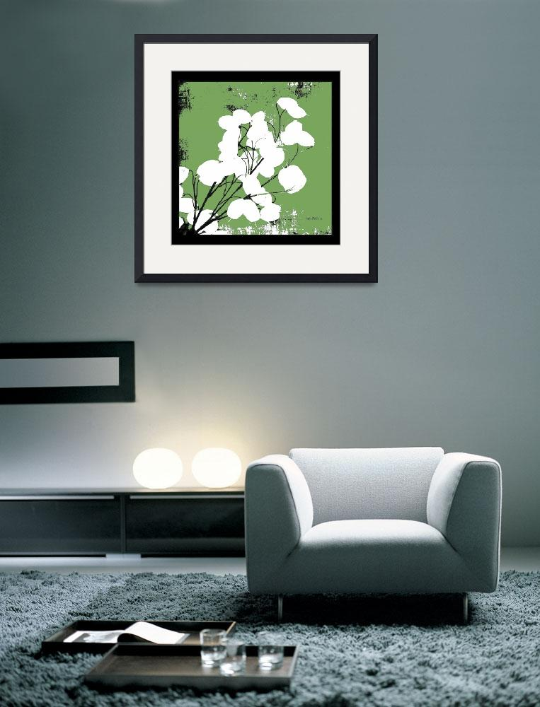 """""""Leaf Green Money Plant&quot  (2008) by HerbDickinson"""