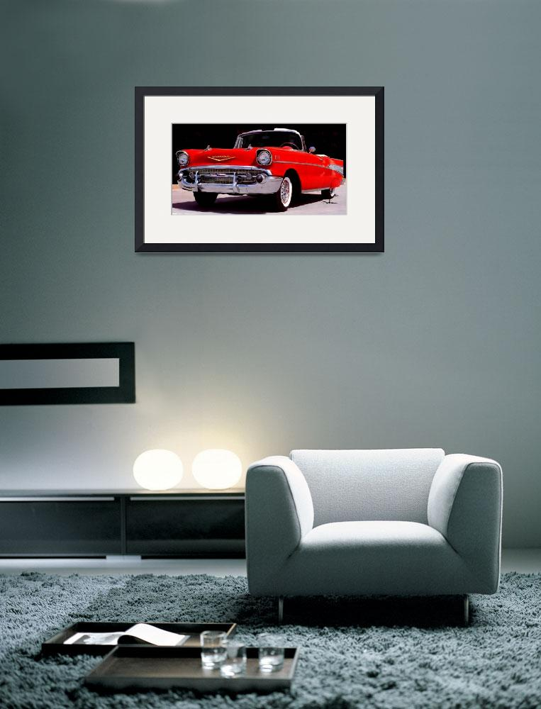 """""""57 Chevy&quot  (2011) by ArtbySachse"""