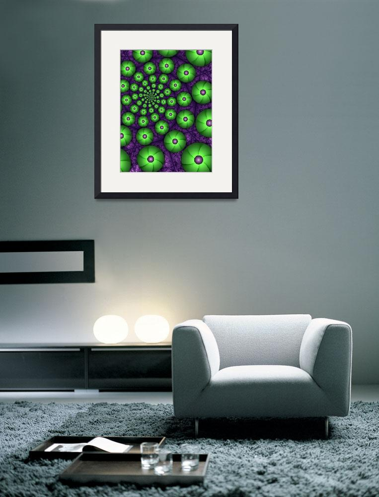 """""""Green Shapes&quot  (2012) by gabiw"""