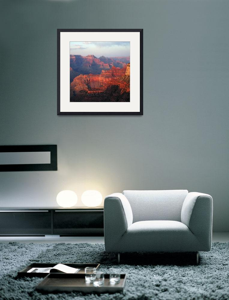 """""""Colorful Grand Canyon Sunset&quot  (2008) by CrypticFragments"""