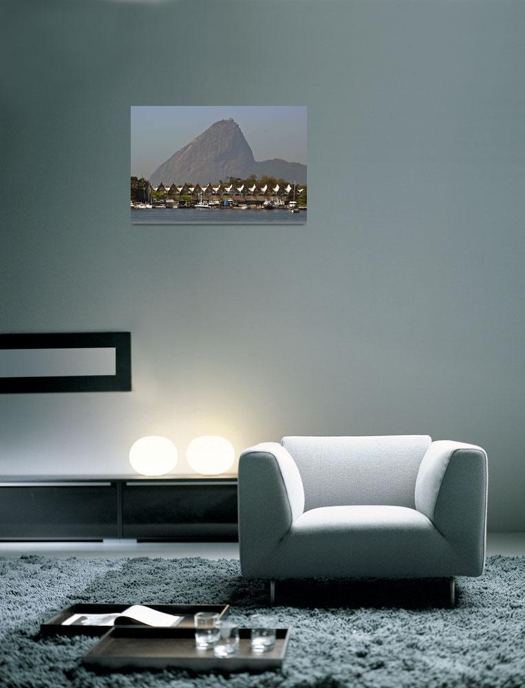 """""""Marina da Gloria and Sugar Loaf Rio de Janeiro Bra""""  (2010) by einsiedler"""