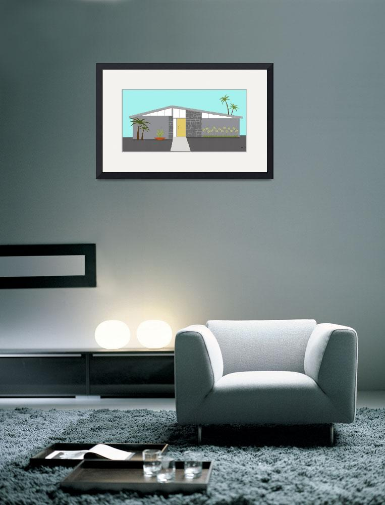 """""""Mid Century Modern House 2&quot  (2014) by DMibus"""