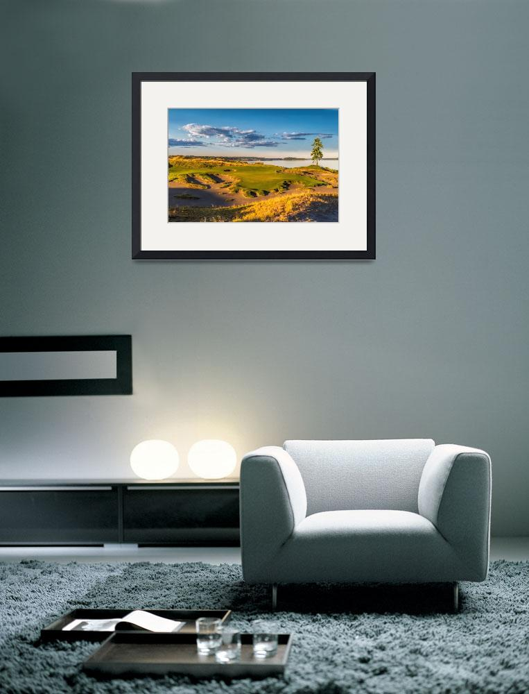 """""""Chambers Bay Hole 15&quot  (2014) by centioliphotography"""