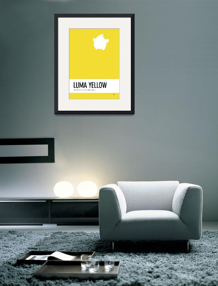 """No40 My Minimal Color Code poster Luma""  by Chungkong"