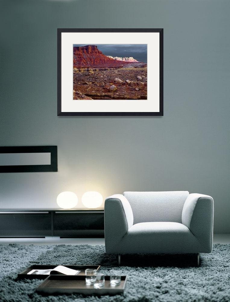 """""""""""Capital Reef Storm Light""""&quot  (2001) by Uhlinger"""