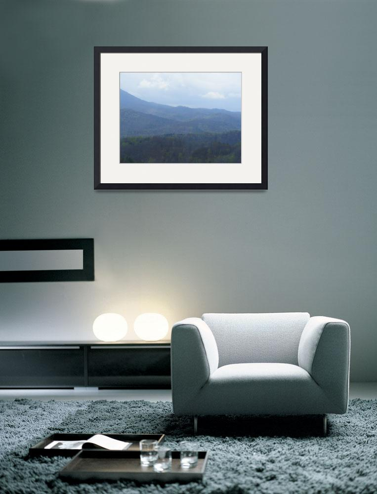 """""""Misty Mountains&quot  (2008) by johnscaptures"""