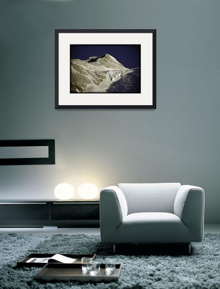 """""""Antarctica: Summit of Mount Vinson from Base Camp&quot  (2006) by ExposedPlanet"""