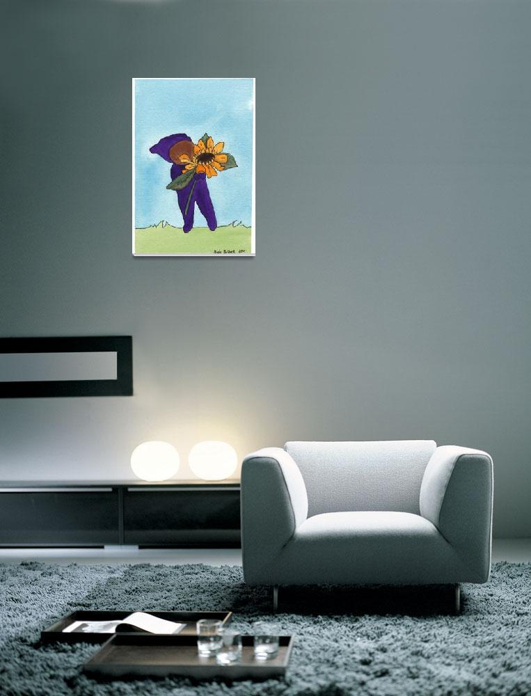 """Sunflower Elf""  (2010) by angiekolbet"