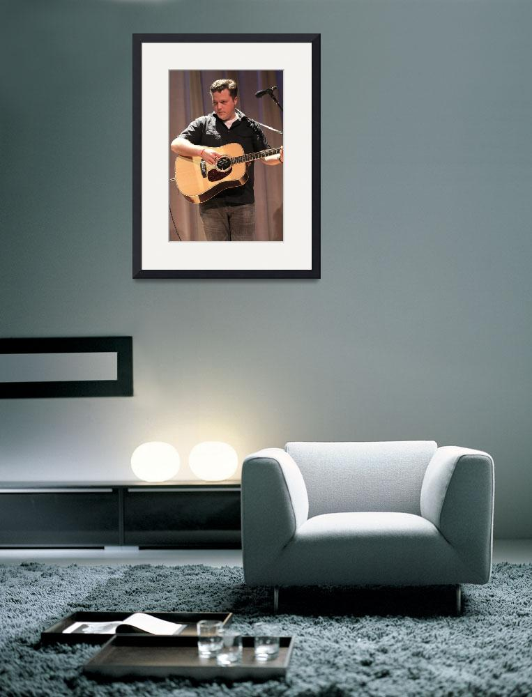 """""""Guitarist Jason Isbell""""  by FrontRowPhotographs"""