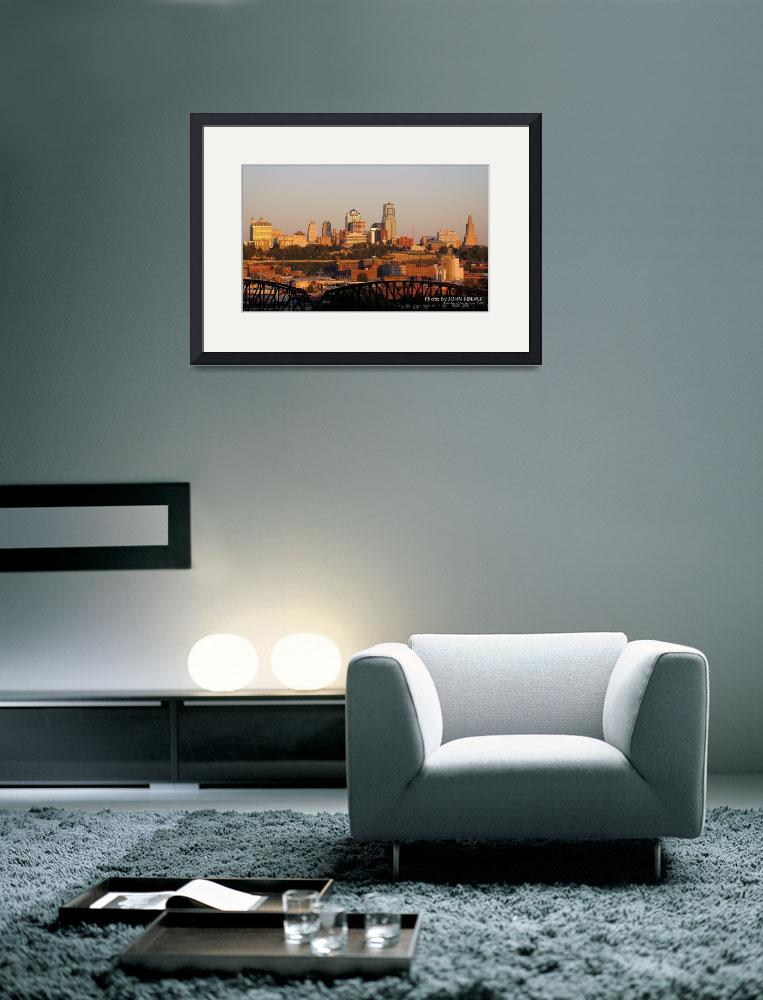 """""""Kansas City at dusk, 16 Sept 2008&quot  by photographybyROEVER"""