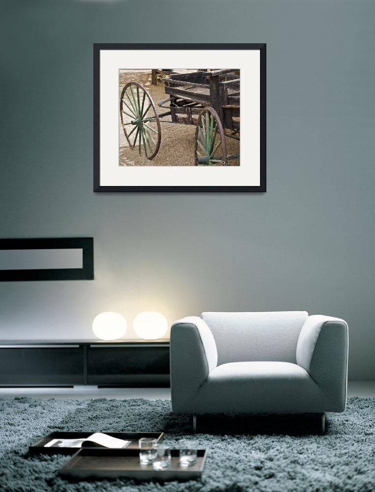 """""""Wagon Wheels&quot  (2014) by Kirtdtisdale"""
