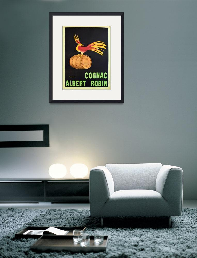 """""""Albert Robin Cognac by Cappiello Vintage Poster""""  by FineArtClassics"""