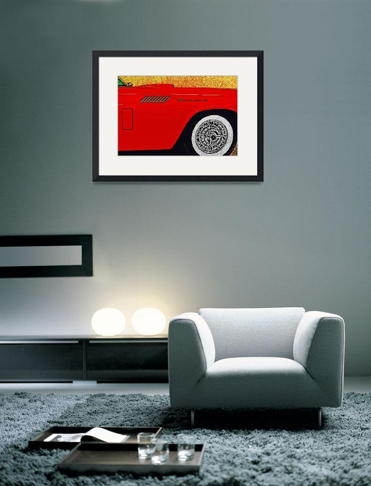 """""""1957 Ford Thunderbird&quot  (2010) by Automotography"""