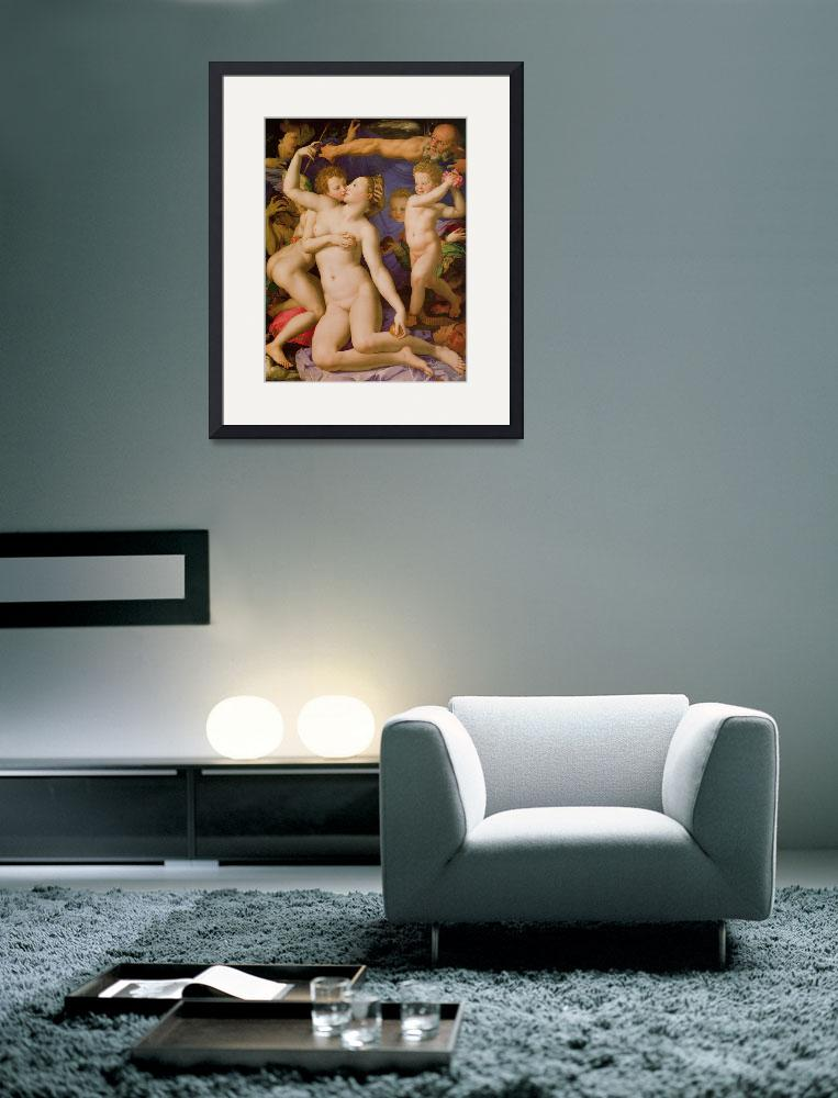 """""""An Allegory of Venus and Cupid&quot  by ArtLoversOnline"""