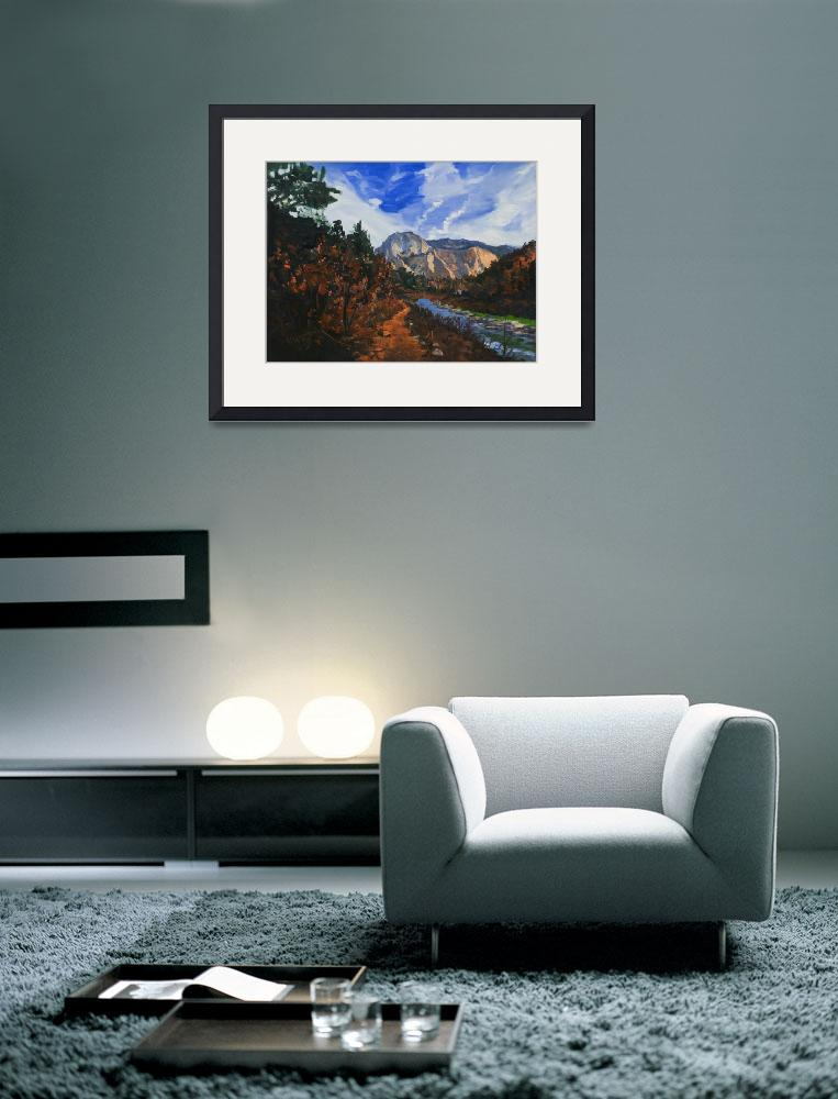 """Warren Keating Zion, Utah Limited Edition Print&quot  (2004) by KeatingArt"