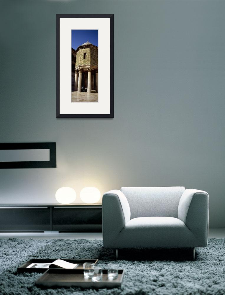 """""""Two people sitting in a mosque&quot  by Panoramic_Images"""
