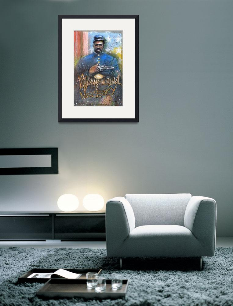 """""""The Civil War Soldier with Gun&quot  (2008) by Greggdegroat"""