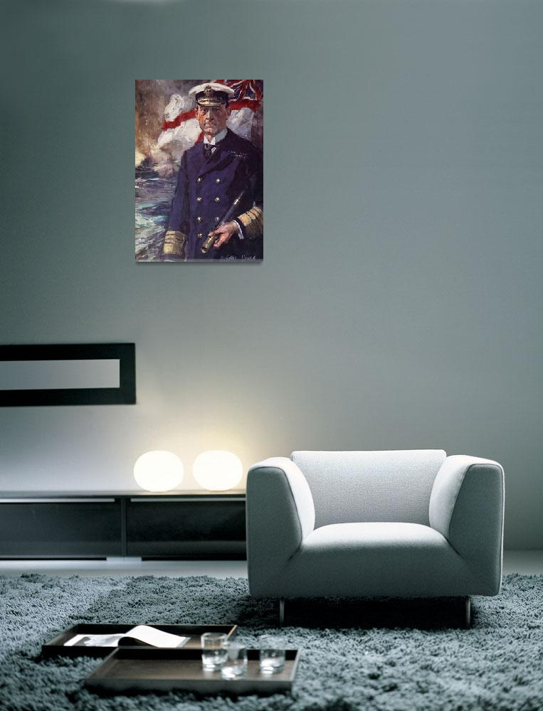 """Admiral Sir John Jellicoe""  by fineartmasters"