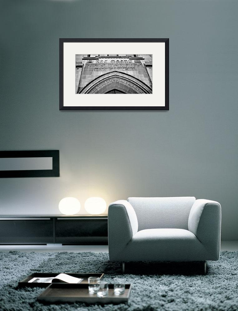 """The Arch Pano--Black and White&quot  (2008) by DigiPix"