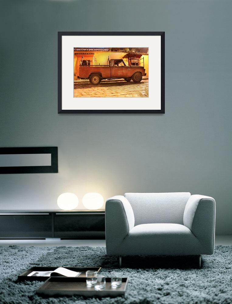 """""""old truck by santo domingo1&quot  (2012) by charker"""
