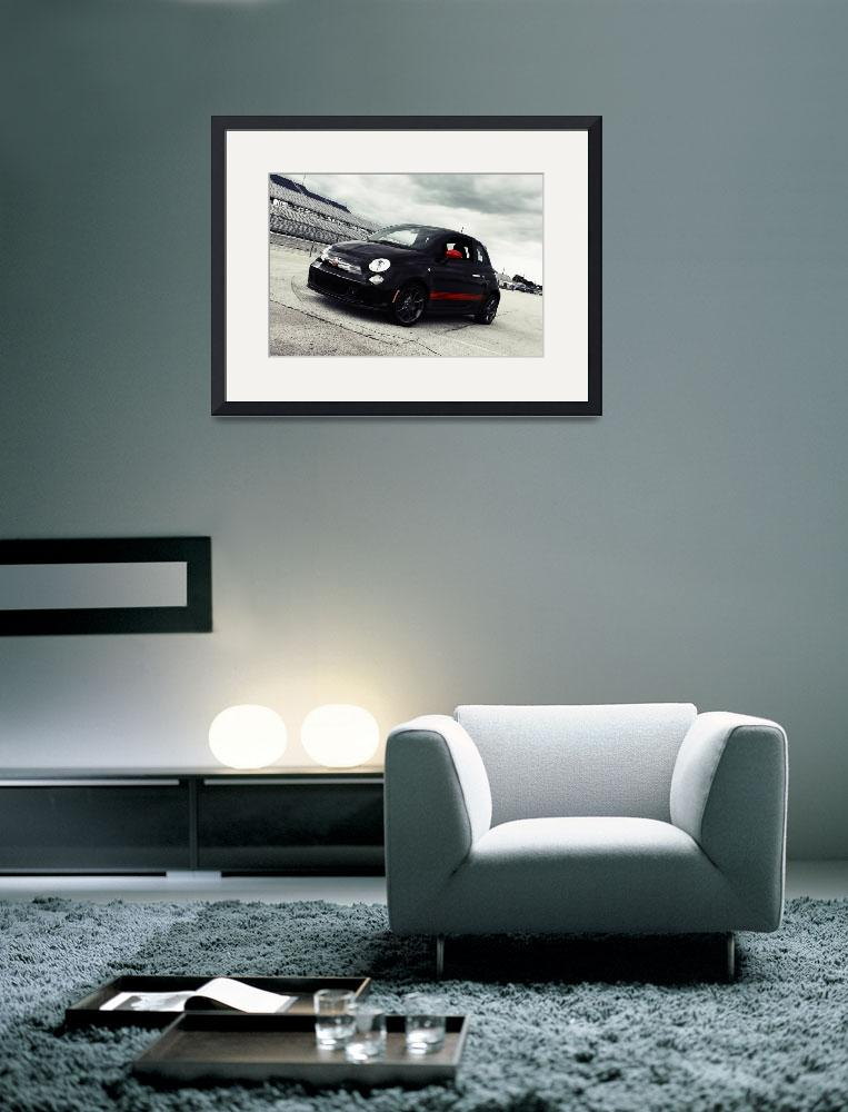 """""""Abarth track front""""  (2012) by xriry"""