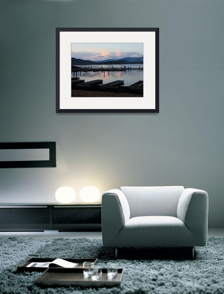 """""""Winter on the Lake&quot  (2008) by Groecar"""