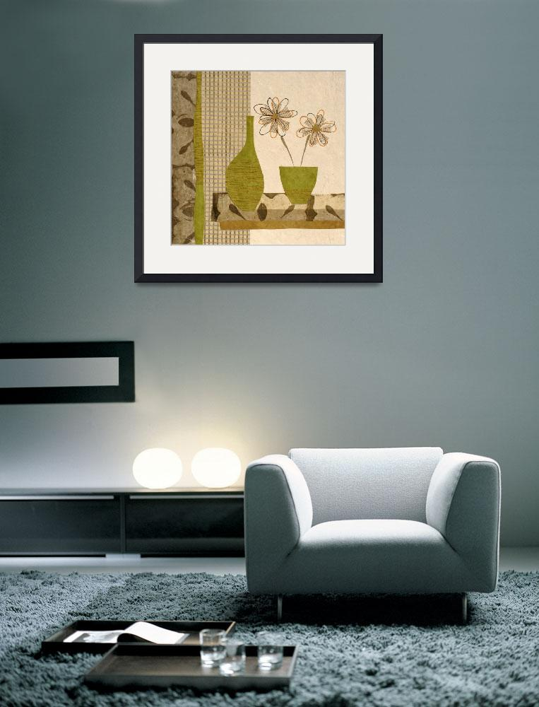 """""""Green Vase&quot  by Aneri"""