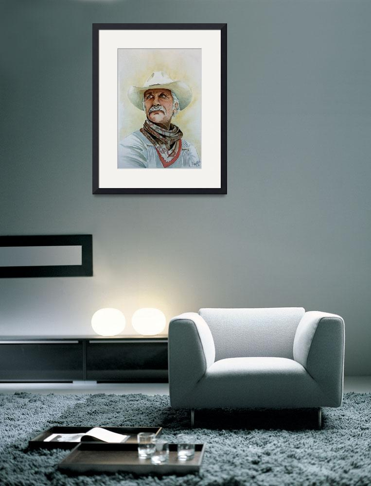"""Robert Duvall as Augustus McCrae in Lonesome Dove""  (2009) by JimmySmith"