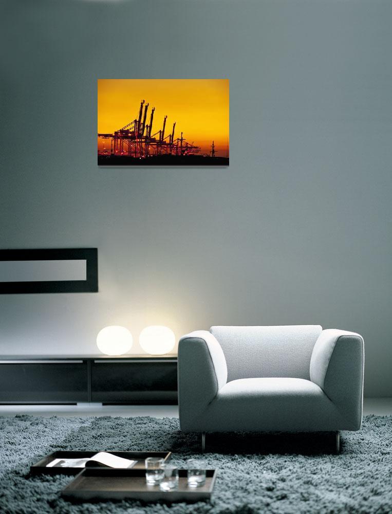 """Cranes""  (2011) by SkipNall"
