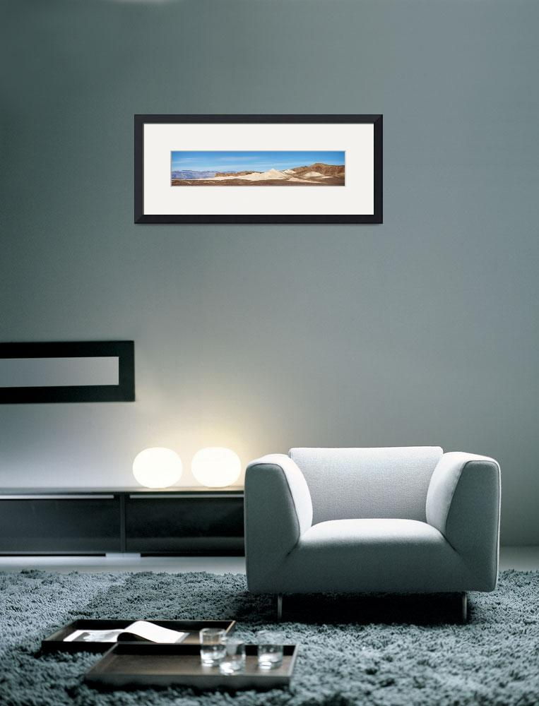 """""""Death Valley Mountain Panorama&quot  (2012) by miir"""
