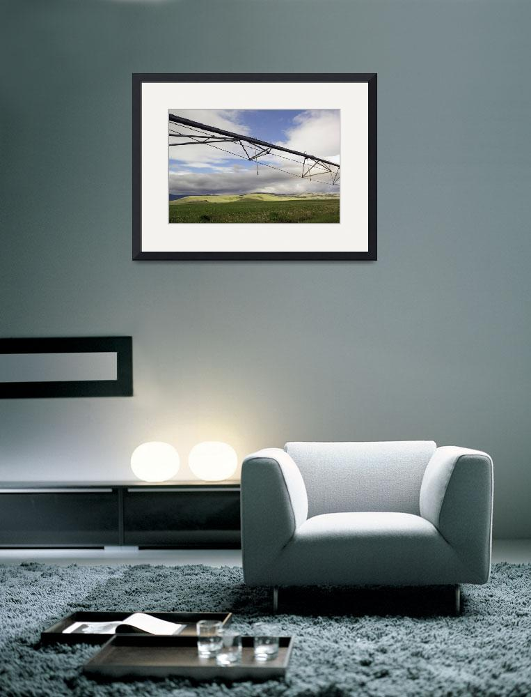 """""""Low angle view of irrigation sprinkler&quot  by Panoramic_Images"""