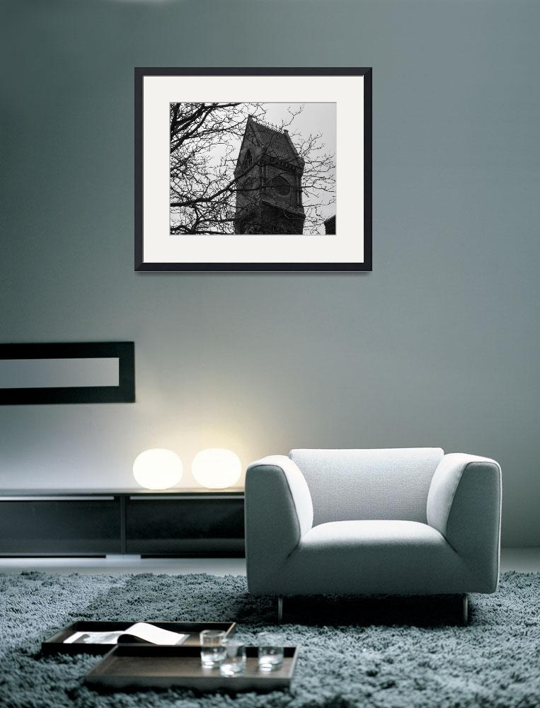 """""""Worcester State Hospital Clock Tower&quot  by gpage"""