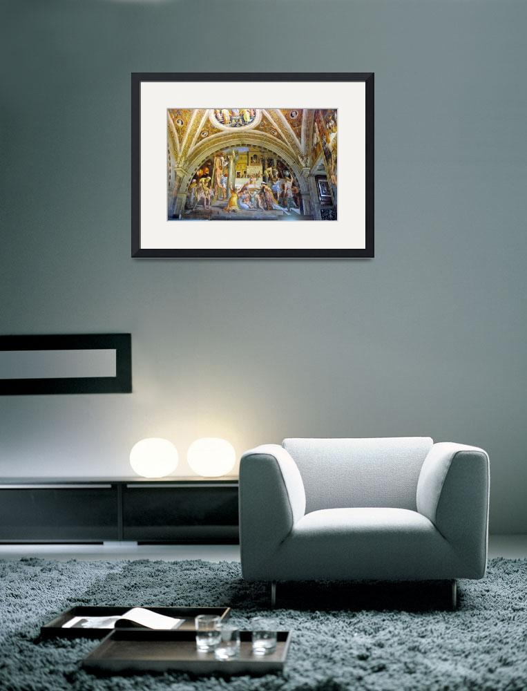 """""""Image inside the Vatican Museum""""  (2008) by Barrywright"""