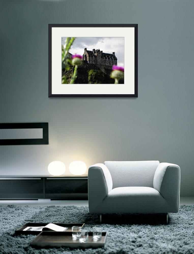 """Edinburgh Castle""  (2011) by Eoghann"