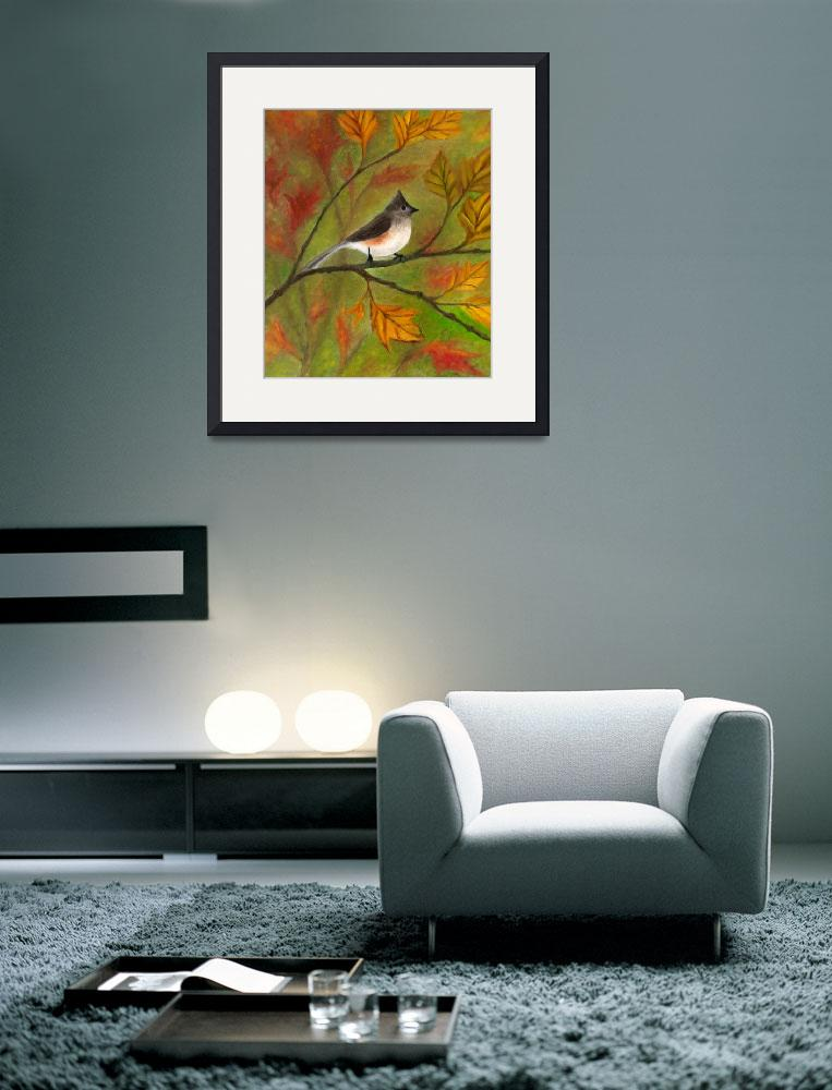 """""""Tufted Titmouse""""  (2005) by FTMcKinstry"""