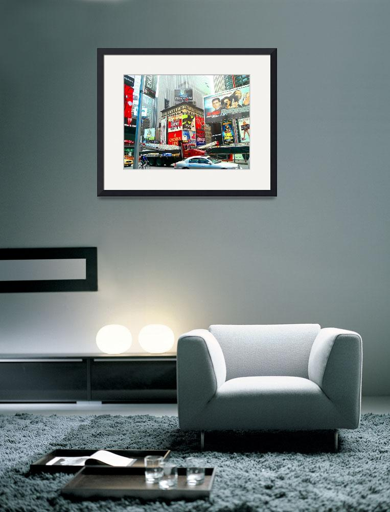 """""""New York City Skyline abstract haze&quot  (2008) by BuehlStuff"""