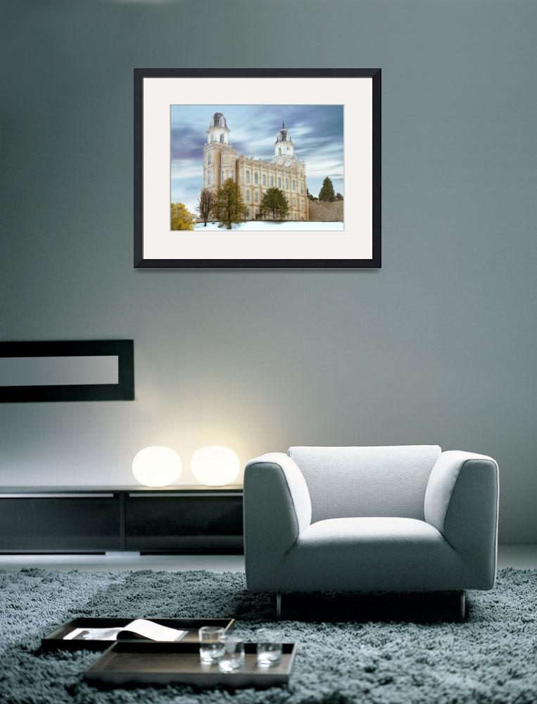 """""""Manti Temple / Winter&quot  by TerrySpringer"""