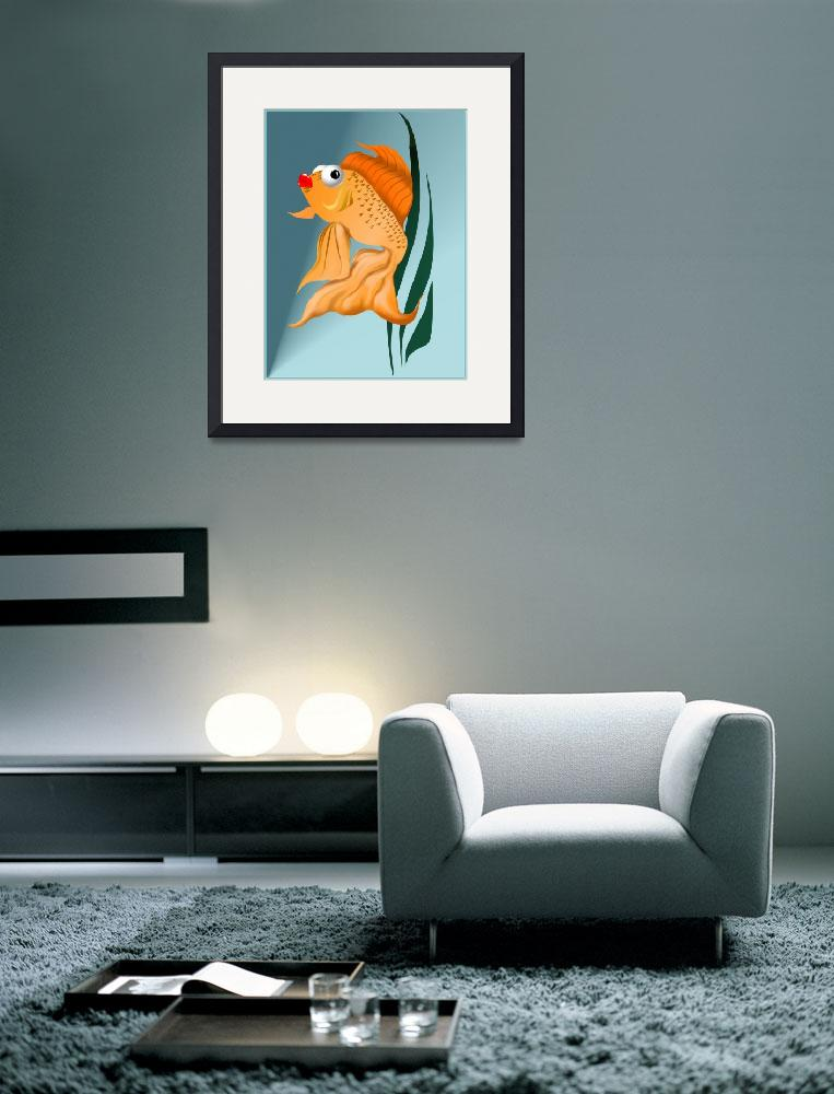 """Fancy Gold Fish&quot  (2008) by Lotacats"