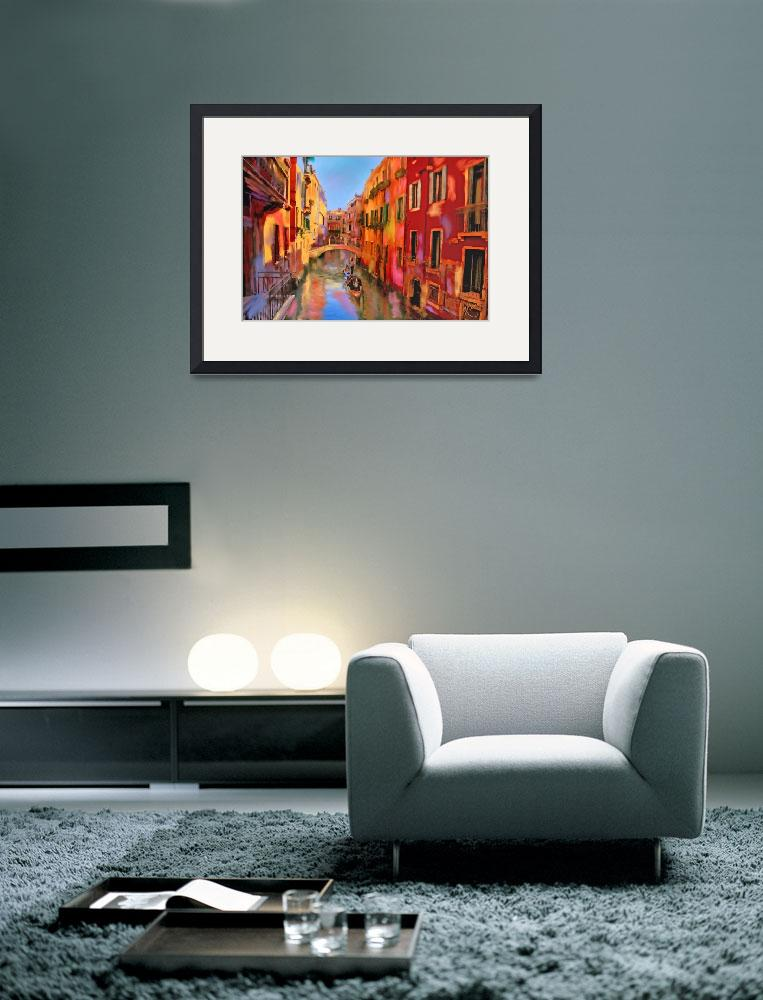 """""""Venice Canal Colors&quot  by marywhitmer"""