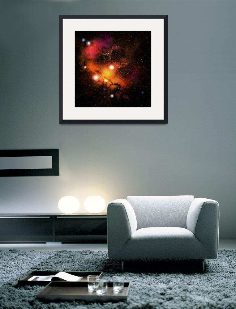 """""""Cosmic space image of a nebula in the universe&quot  by stocktrekimages"""