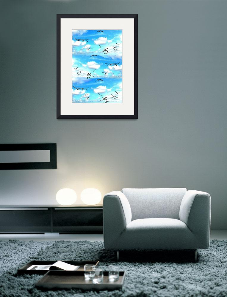 """""""A flock of Seagulls""""  (2012) by jt85"""