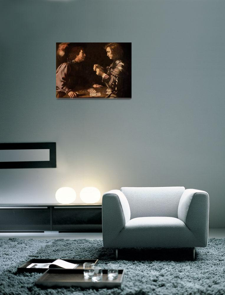 """""""The Gamblers by Caravaggio""""  by fineartmasters"""