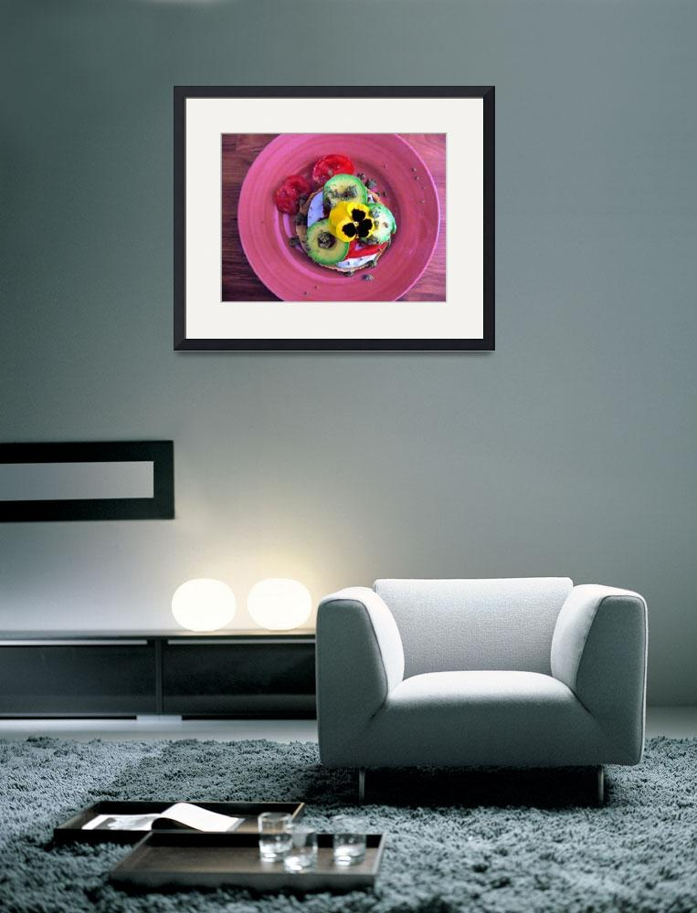 """""""Garden Plate&quot  (2007) by Inksquirt"""