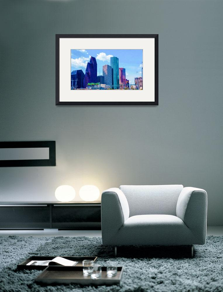 """City Skyline Art 26&quot  (2016) by positivebusinessdesigns"
